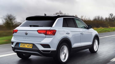 Volkswagen T-Roc - rear