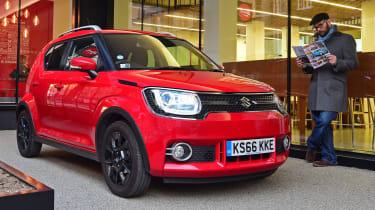 Suzuki Ignis - parked