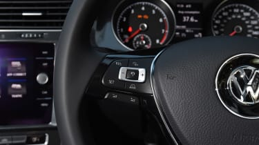 Volkswagen Golf - steering wheel detail