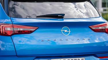 Vauxhall Grandland PHEV - rear badge
