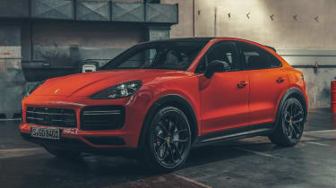 Porsche Cayenne Coupe - front 3/4 static