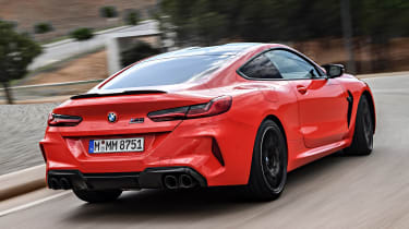 BMW M8 - rear
