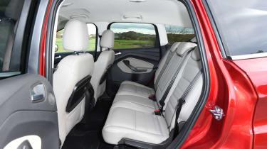 Ford Kuga Titanium - rear seats