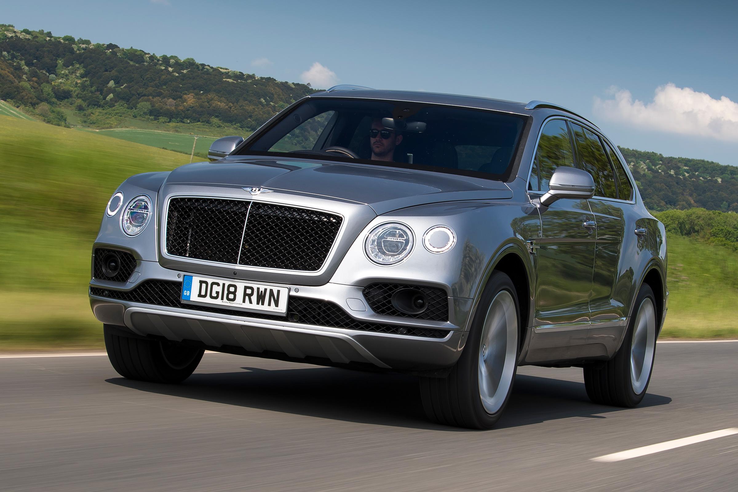 New Bentley Bentayga V8 2018 Review Auto Express