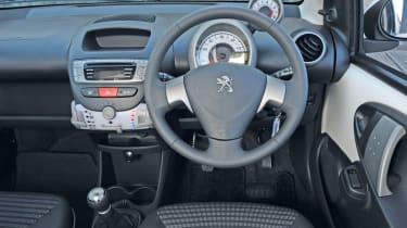 Peugeot 107 interior