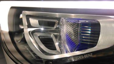 Mercedes X-Class concept light