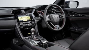 New Honda Civic Sport Line interior