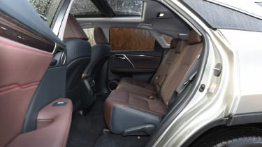 Lexus RX 450h - rear seats