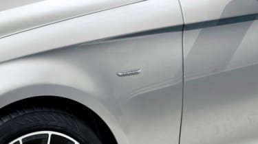 Mercedes CLS Final Edition front white close