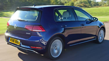 vw golf mk7 tracking rear