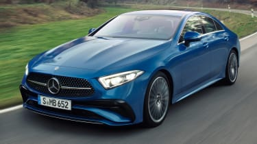 Mercedes CLS - front tracking