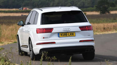 Audi SQ7 Vorsprung - rear cornering
