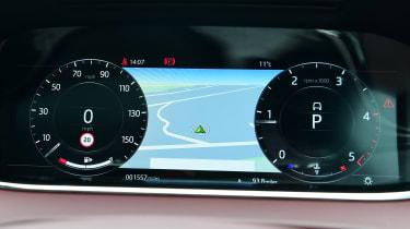 Range Rover Evoque dash