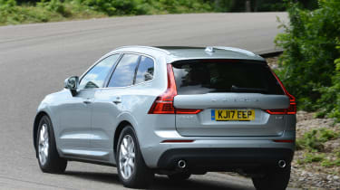 Volvo XC60 - rear cornering