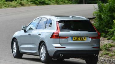 Volvo XC60 - rear cornering