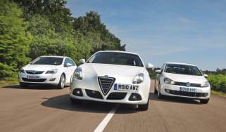 Alfa Giulietta vs Rivals