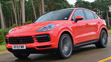 Porsche Cayenne Coupe - front tracking