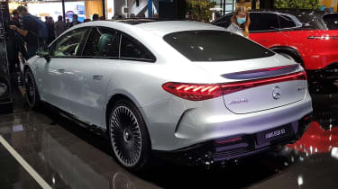 Mercedes-AMG EQS 53 - Munich rear