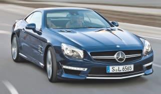 Mercedes SL65 AMG front