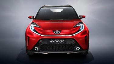 Toyota Aygo X prototype - studio full front