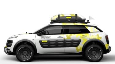 Citroen C4 Cactus Aventure concept profile