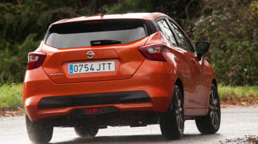 New Nissan Micra - rear cornering