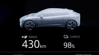 Jaguar I-Pace - range