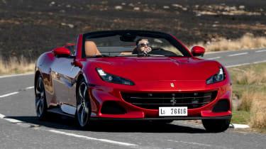 Ferrari Portofino M - front cornering
