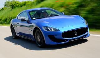 Maserati GranTurismo Sport front tracking