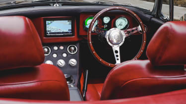 Electric MGB - interior