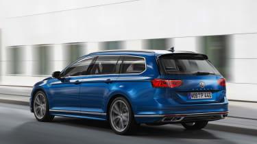 Volkswagen Passat Estate - rear action