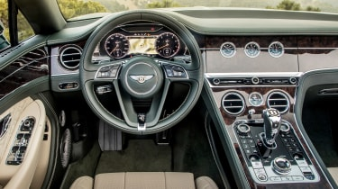 Bentley Continental GT Convertible - dash