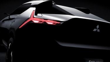 Mitsubishi e-Evolution Concept rear