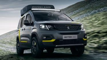 Peugeot Rifter 4x4 Concept - front