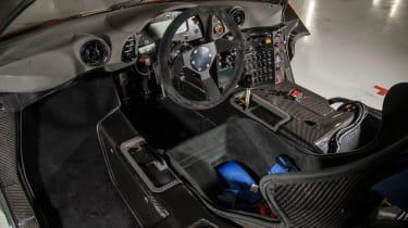 McLaren F1 GTR  - interior