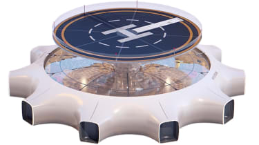 Hyundai flying concept - landing pad