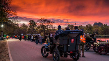 London to Brighton Veteran Car Run  -  sunrise