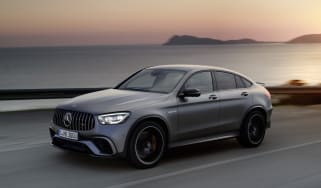 Mercedes-AMG GLC 63 S - front tracking