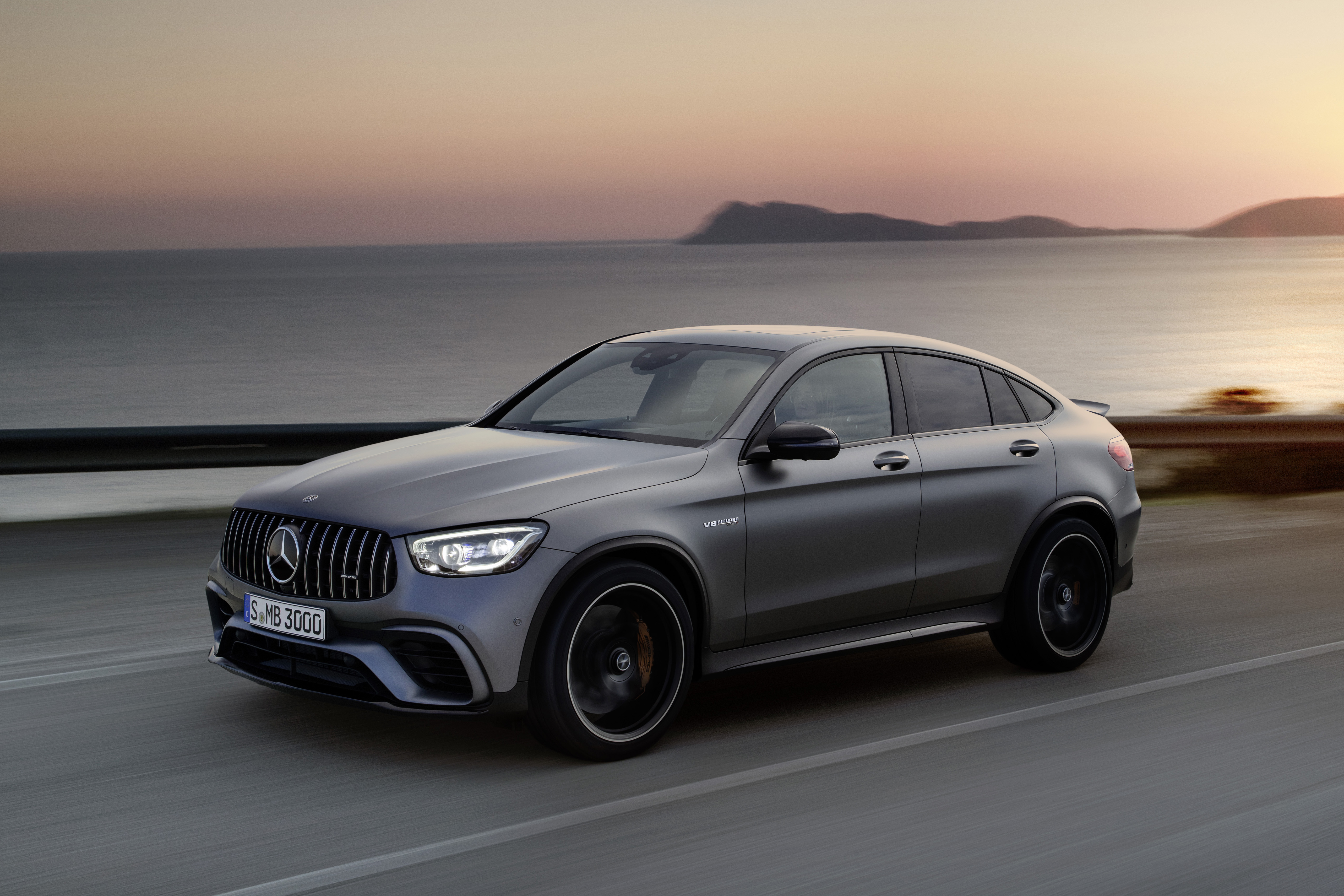 New 2019 Mercedes Amg Glc 63 S Coupe Review Auto Express