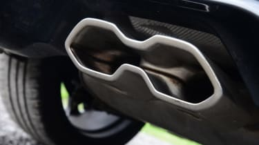 Used Ford Focus ST - exhaust