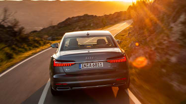 Audi A6 - twilight full rear