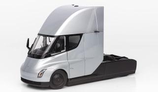 Tesla Semi Truck model - front 3/4