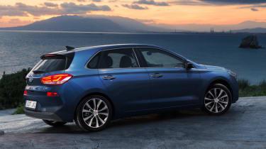 New Hyundai i30 2017 rear static