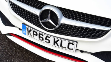 Mercedes A 250 AMG grille