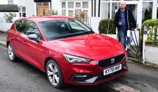 SEAT Leon e-Hybrid long termer - first report header