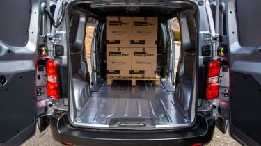 Toyota Proace Electric van - rear loadspace