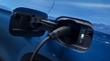 Audi Q5 charging port