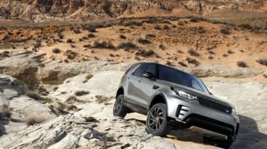 JLR Autonomous off-road