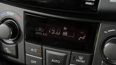 Suzuki Swift Sport dash detail