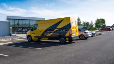 Renault Pro+ van side profile